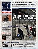Telecharger Livres 20 MINUTES No 1779 du 25 02 2010 LES RETRAITES MANIFESTENT LEUR COLERE PARTOUT EN FRANCE L EUROPE GROGNE FACE AUX PIGS PRODUCTEUR UN JOB DEVENU ABORDABLE FRECHE FAIT LE POINT SUR LE PS REGIONALES UN CANDIDAT PRESQUE SEREIN (PDF,EPUB,MOBI) gratuits en Francaise