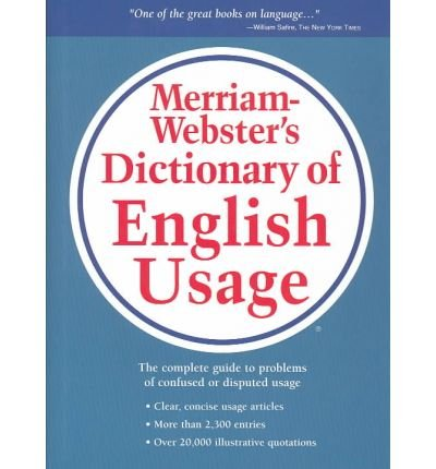 [(Merriam-Webster's Dictionary of English Usage)] [Author: Merriam-Webster] published on (April, 1995)