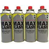 NEW 16 X BUTANE GAS BOTTLE CANISTERS BOTTLES FOR COOKER HEATER BBQ CAMPING 16PC