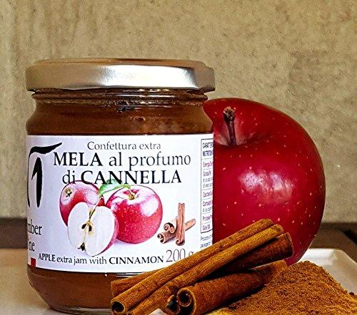 Confettura mela e cannella - Vasetto 200 gr.
