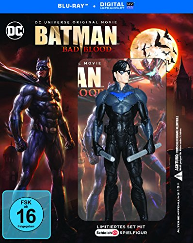 DCU Batman: Bad Blood inkl. Nightwing Figur (exklusiv bei Amazon.de) [Blu-ray]