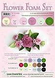 6 FOGLI di foamiran A4 gradazioni del rosa SPESSORE 0,8 mm MOOSGUMMI x fiori