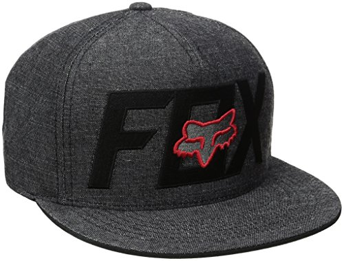 fox-herren-keep-out-snapback-cap-black-red-one-size