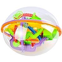 Descrizione del prodotto:Master la sfida della Crazy, Fun World di questo labirinto. All' interno del labirinto you ¡¯ ll 22piedi di serrate curve e ostacoli.Con torsione e rotazione per spostare la palla lungo il percorso numerato.Quando cade la p...