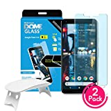 (2 Count) Whitestone Dome Glass Screen Protectors for Google Pixel 2XL Touted as one of the best tempered glass protectors, our patented Dome Glass has incredible scratch resistance and hardness. Compared to cheap $10 alternatives, this ultra strong ...