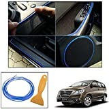 Vheelocityin 5Metre Interior Trim Decorative Strip - Blue for Toyota Innova