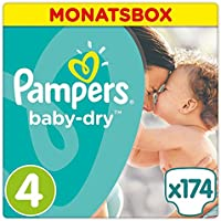 Pampers Active Baby Monthy Box S4 - 174pcs