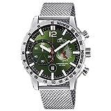 Lotus Herren Chronograph Quarz Uhr mit Edelstahl Armband 10137/1