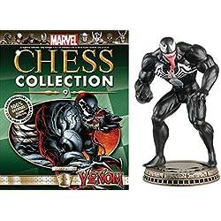 Figura de Ajedrez de Resina Marvel Chess Collection Nº 9 Venom