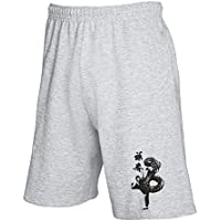 T-Shirtshock - Pantalone Tuta Corto T0400 kung