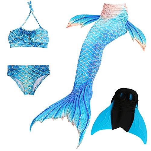 Das beste Mädchen Bikini Badeanzüge Schönere Meerjungfrauenschwanz Zum -