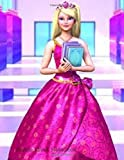 Barbie Lined Notebook: Cartoon character cover,Lined Notebook,Large 8.5x11 100 pages