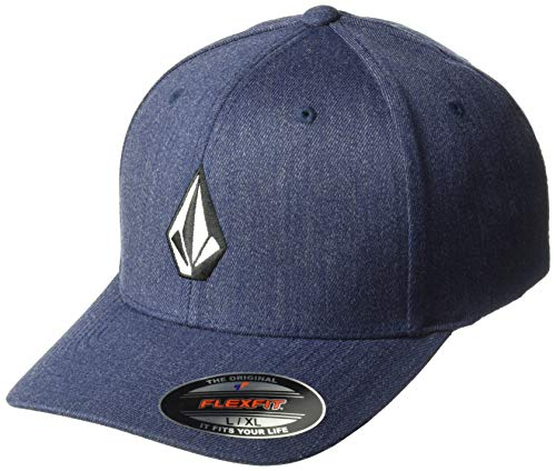 Volcom-drop (Volcom Herren Full Stone Cap-Flexfit, Navy Heather, S/M)