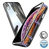 Coque Magnétique Adsorption pour iPhone XS [Protection Intégrale 360 degrés]...