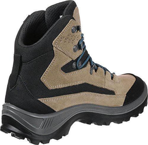 Femme Basses dark Dachstein Chaussures Wmn Randonnée Dds Sand de Lc Gris Turquoise Rax qaw80wp