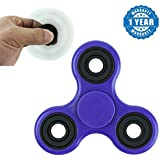Captcha Longspin Hand Finger Spinner Helps Focusing Fidget Toys With Longer Spin Time (1 Year Warranty)