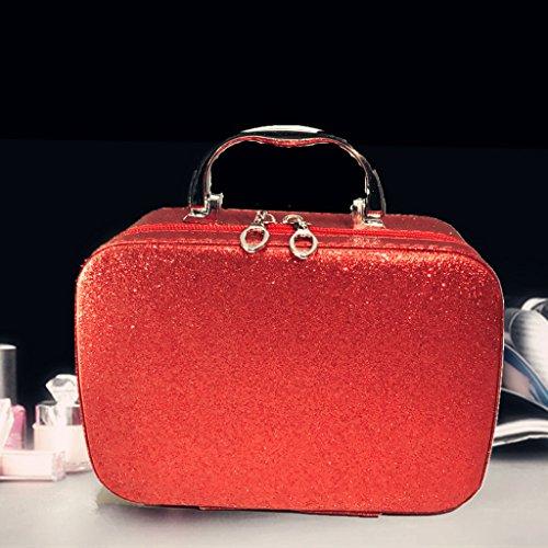 % @ HUAZHUNG - portatili corsa del vestito di lavaggio di viaggio di corsa del sacchetto signore portatili borsa sacchetto impermeabile trousse tromba F