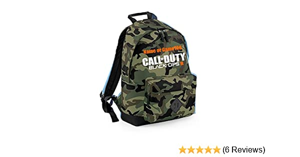 COD IIII Black Ops 4 backpack with Optional Personalisation Call of Duty