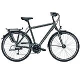 Raleigh Herren Oakland Fahrrad, Carbonitegrey, 55