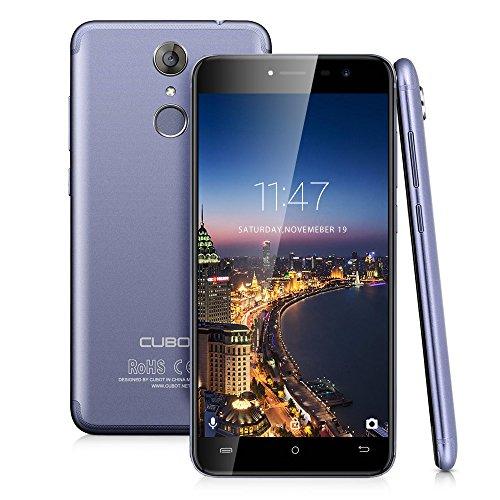 Cubot Note Plus (2017) Smartphone Ohne vertrag (13,22 cm (5.2 Zoll), 32GB Speicher, 3GB RAM, Anroid 7.0, 16MP + 16MP Dualkamera, Dual Sim Smartphone) 4G LTE Smartphones (Led-belegungs-sensor-licht)