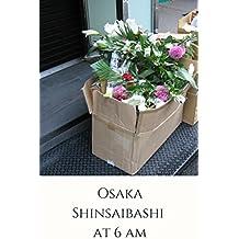 Osaka Shinsaibashi at 6 am: Early morning entertainment district (English Edition)