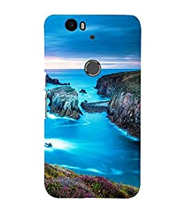 printtech Nature View Strait Back Case Cover for Huawei Google Nexus 6P