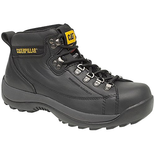 Caterpillar Mens Hydraulic Safety Work Boots Black Black