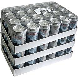 Maresca Mineral Water XXL Paket (72x0,33l Dose) Natürliches Mineralwasser mit Kohlensäure