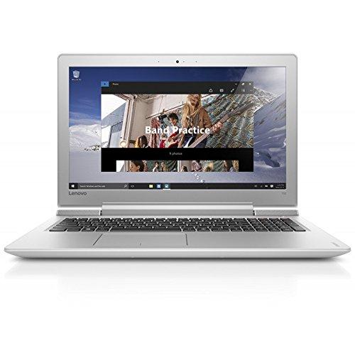 Lenovo 80RU00HLFR Ultrabook 15.6'' Blanc (Intel Core i7, 8 Go de RAM, 1 To, Nvidia GeForce GTX 950M / Intel HD Graphics 530, Windows 10)