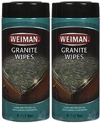Weiman Weiman Granite Wipes - 30 ct - 2 pk by Weiman