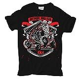 Männer und Herren T-Shirt Quad Outdoor Hooligan Größe S - 8XL