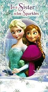 Disney Frozen anniversaire Motif Elsa et Anna de La Reine des Neiges