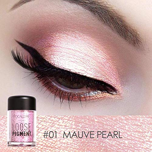 NOTE Focallure Glitter Makeup Shimmer Glitter Eyeshadow 18 Colors Shiny Pigment Powder Maquiagem Lips Loose Make Up Chameleon Colors - Lip Color Shimmer