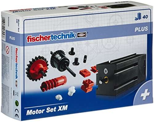 Motor-set (505282 - fischertechnik PLUS Motor Set XM, 40 Teile)