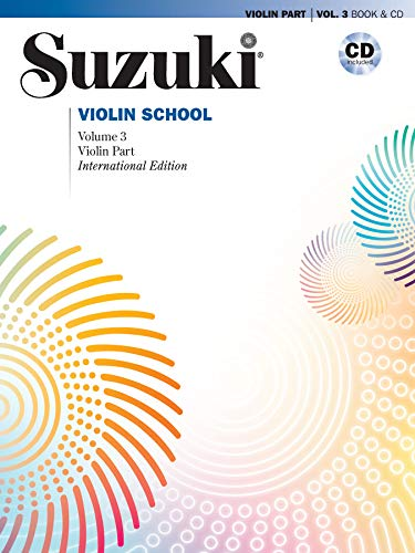 Suzuki Violin School 3, Revised Edition mit CD (The Suzuki Method Core Materials)