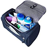 CONNECTWIDE Pro-traveller Hanging Toiletry Bag Travel Case For Man Or Woman With Hanging Hook Organizer Accessories...
