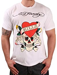 Ed Hardy por Christian Audigier Hombres de varios colores camisetas