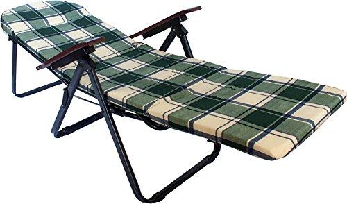 Sedia A Sdraio Tessuto : Sedia sdraio imbottita pieghevole pompei lettino sedie