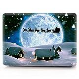 AQYLQ MacBook Schutzhülle/Hard Case Cover Laptop Hülle [Für MacBook Pro 13 Zoll – mit CD-Laufwerk: A1278], Plastik Hartschale Tasche Schutzhülle, Weihnachten 16