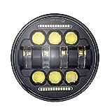 Blu CREE U7 Faretti LED Moto,Biqing 2Pcs Fari Moto LED Faretto Anteriore 12V 24V LED Spotlight Faro Supplementare Motocicletta Lampada Antinebbia 6000K con Interruttore