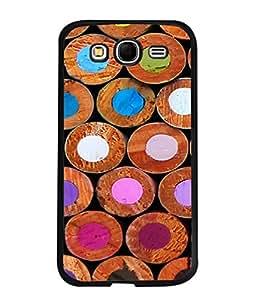 Fuson Designer Back Case Cover for Samsung Galaxy Grand Neo I9060 :: Samsung Galaxy Grand Lite (Zoomed Color Pencil Image Artist Drawing School)