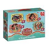 Jumbo Disney 4 Shaped - Rompecabezas (Rompecabezas de Figuras, Dibujos, Preescolar, Disney Elena of Avalon, Chica, 4 año(s))