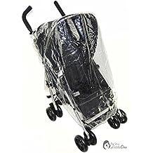 Protector de lluvia Compatible con Hauck Shopper 6/Sport Buggy carrito (142)