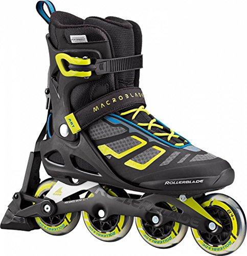 ROLLERBLADE Inline-Skates MACROBLADE 84 ABT SC NERO/LIME NERO/ROSSO