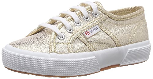Superga 2750 Lamej, Baskets Basses Mixte Enfant, Or