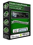 Radio Pioneer con entrada USB, AUX y CD para Citroen Xsara Picasso; reproduce iPod, iPhone y Android