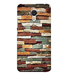 EPICCASE Colorful brick wall Mobile Back Case Cover For Meizu M3 Note (Designer Case)
