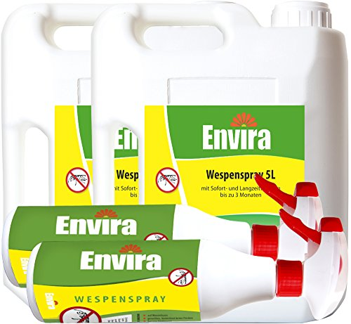 ENVIRA Wespen Stopp Spray 2x5Ltr + 2x500ml