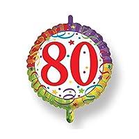 Palloncino in mylar multicolor ø 45 cm. Magic-party (fornito sgonfio). Gonfiaggio ad aria o elio