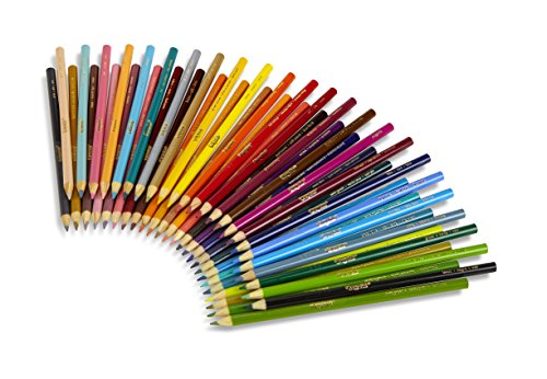 Crayola Colored Pencils Art Tools 50 Count Perfect for Art